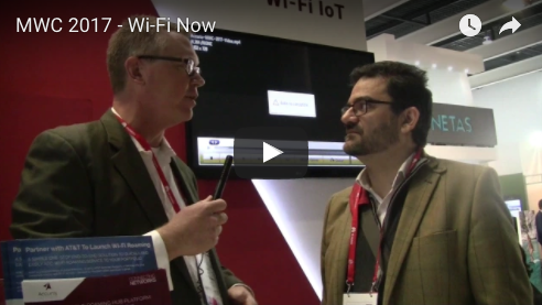 MWC - Interview with Claus Hetting, Wi-Fi Now